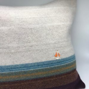 Lambswool cushion